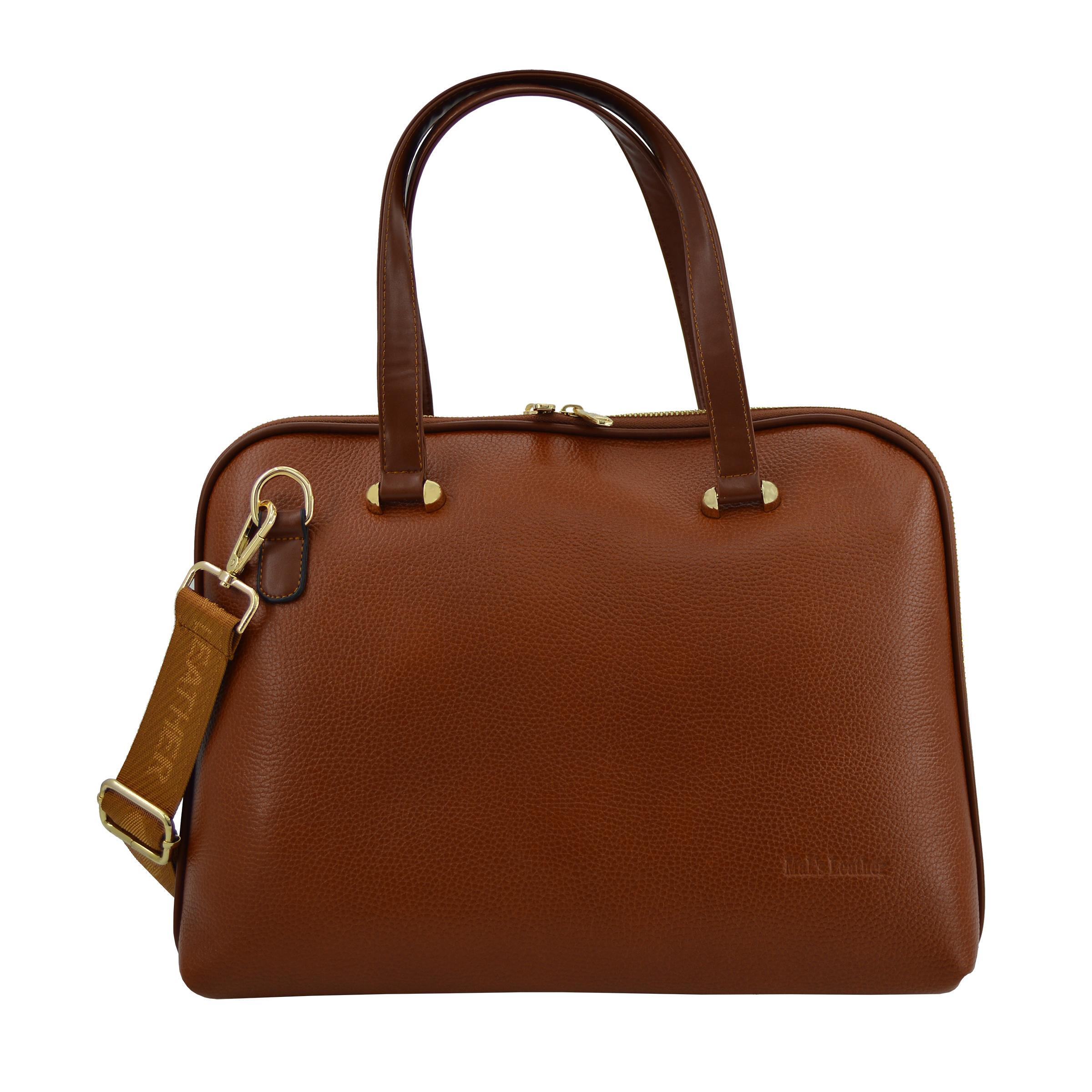کیف دستی زنانه چرم مکس مدل آلدورا 12502