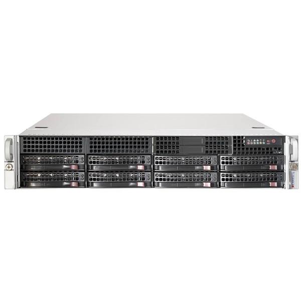 کیس کامپیوتر سوپرمیکرو مدل CSE-825TQC-600LPB