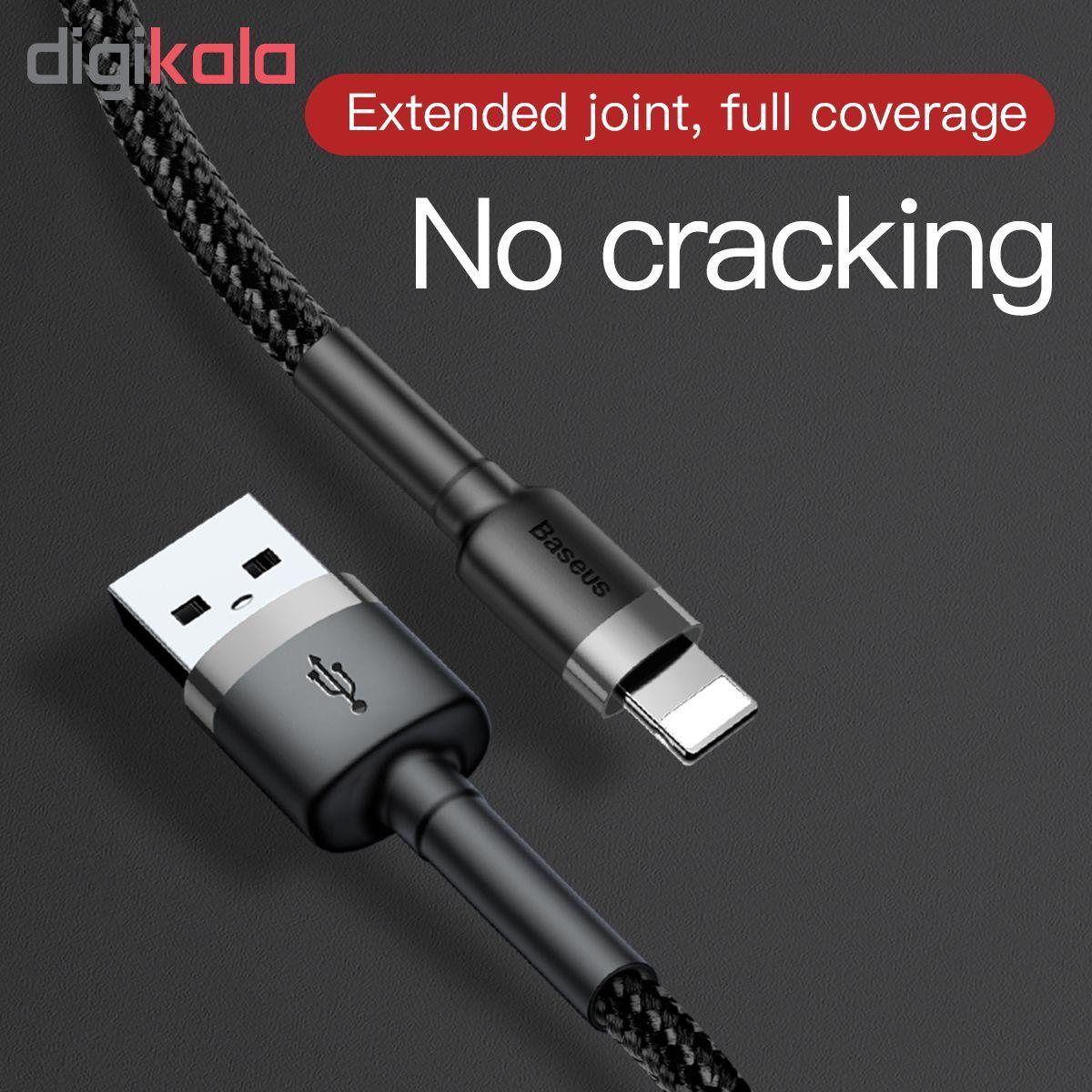 کابل تبدیل USB به لایتنینگ باسئوس مدل CALKLF-BG1 طول 1 متر main 1 11