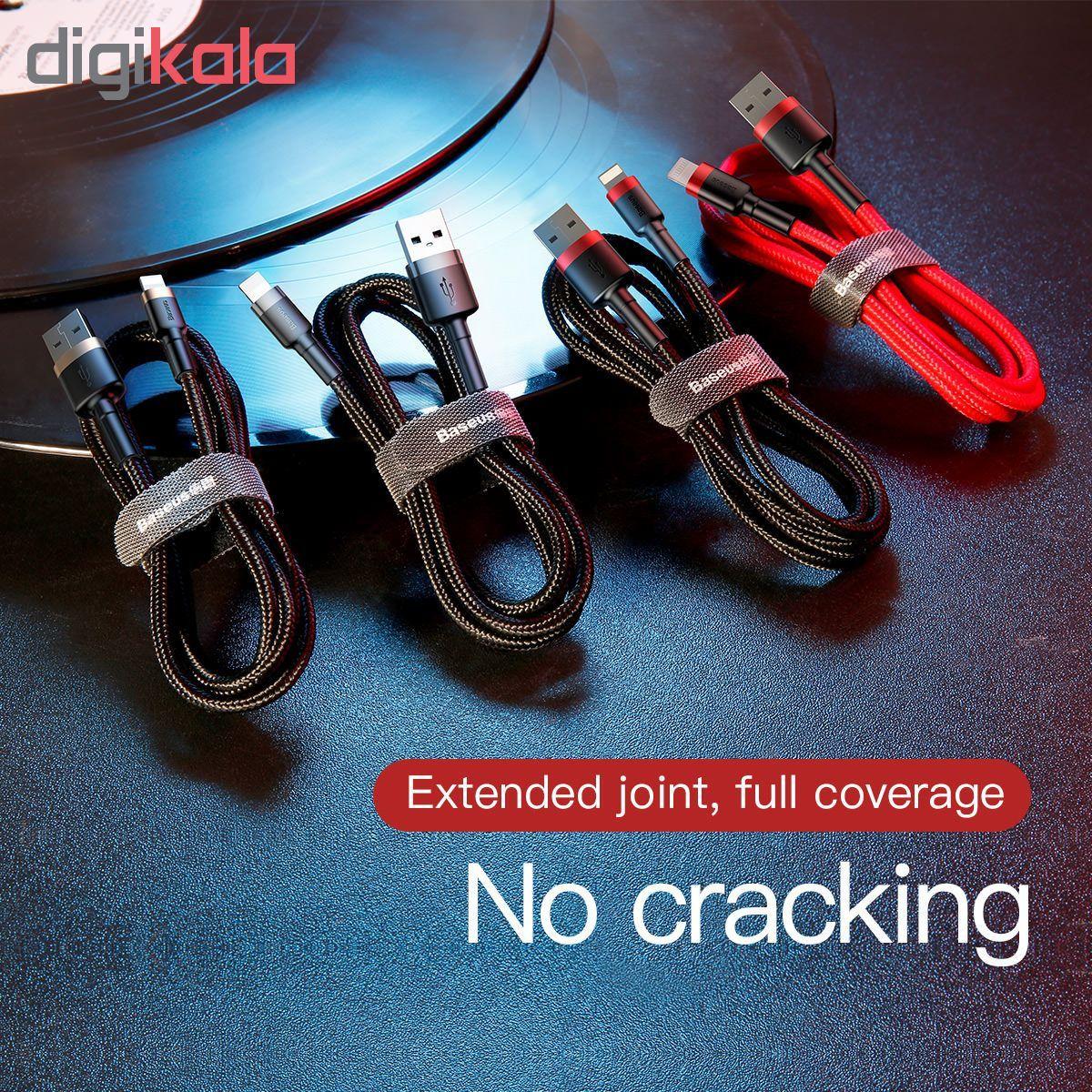 کابل تبدیل USB به لایتنینگ باسئوس مدل CALKLF-BG1 طول 1 متر main 1 13