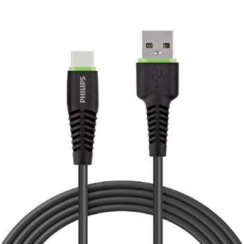 کابل تبدیل USB به USB-C فیلیپس مدل DLC1530C طول 1.2 متر