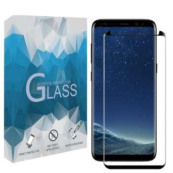 محافظ صفحه نمايش 5D مدل FGSP مناسب براي گوشي موبايل سامسونگ Galaxy S9