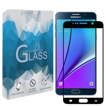 محافظ صفحه نمايش 5D مدل FGSP مناسب براي گوشي موبايل سامسونگ Galaxy Note 5
