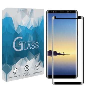 محافظ صفحه نمايش 5D مدل FGSP مناسب براي گوشي موبايل سامسونگ Galaxy Note 8