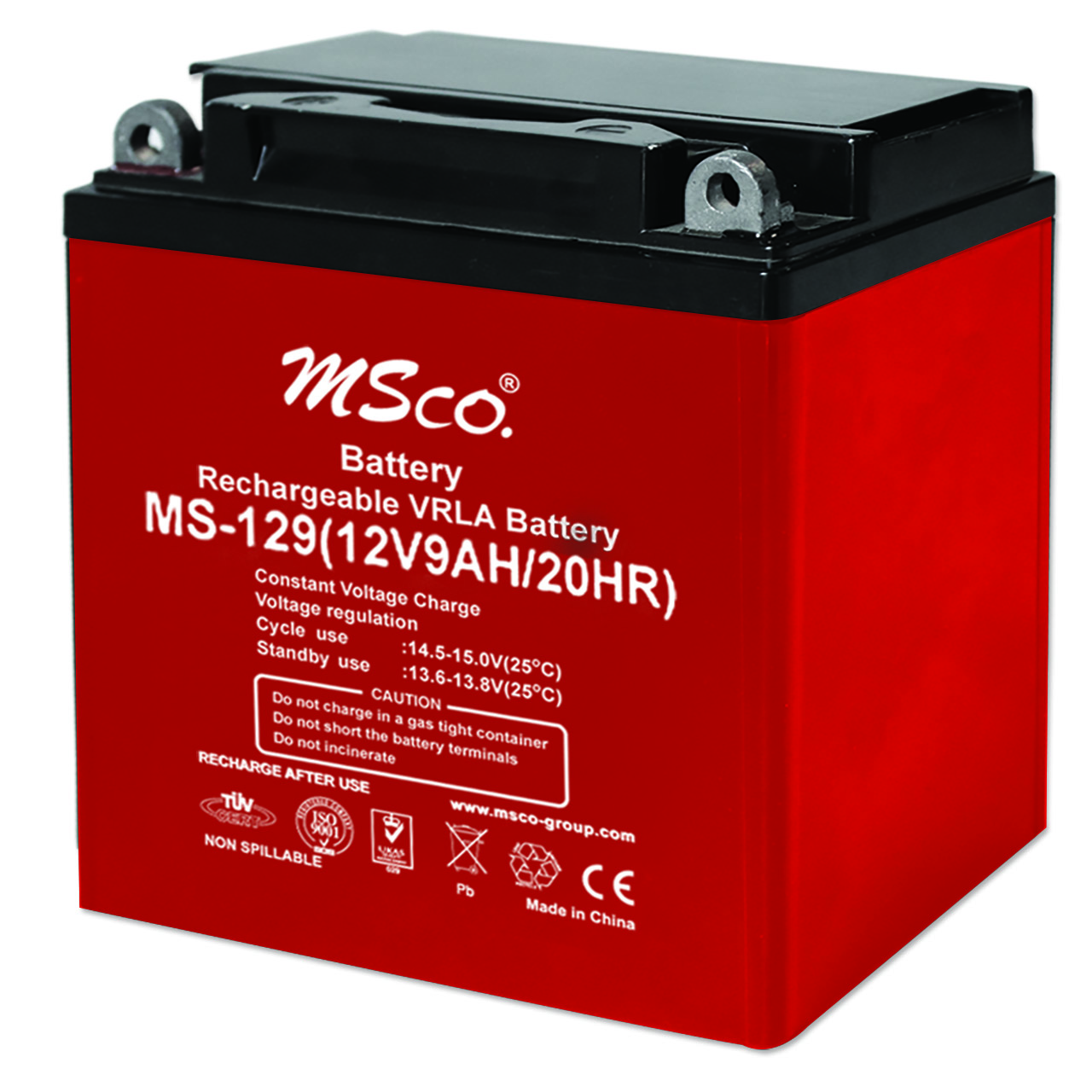 باتري موتور سيكلت ام اس كو مدل MS-129