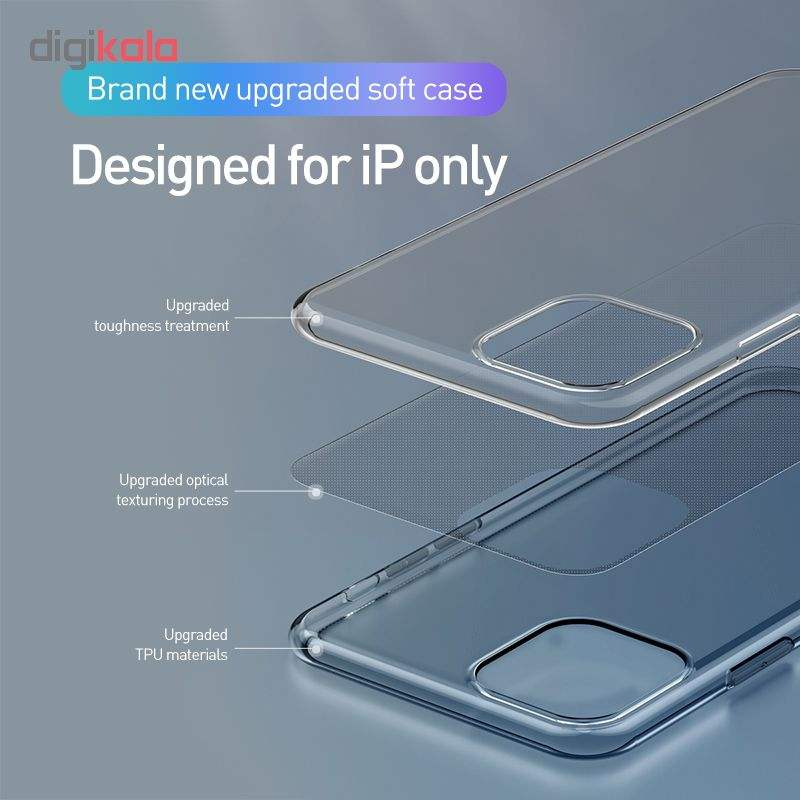 کاور باسئوس مدل ARAPIPH65S-02 مناسب برای گوشی موبایل اپل iPhone 11 Pro Max main 1 4