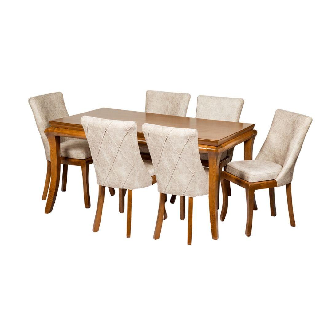 میز و صندلی ناهارخوری مدل ویکتوریا کد 098