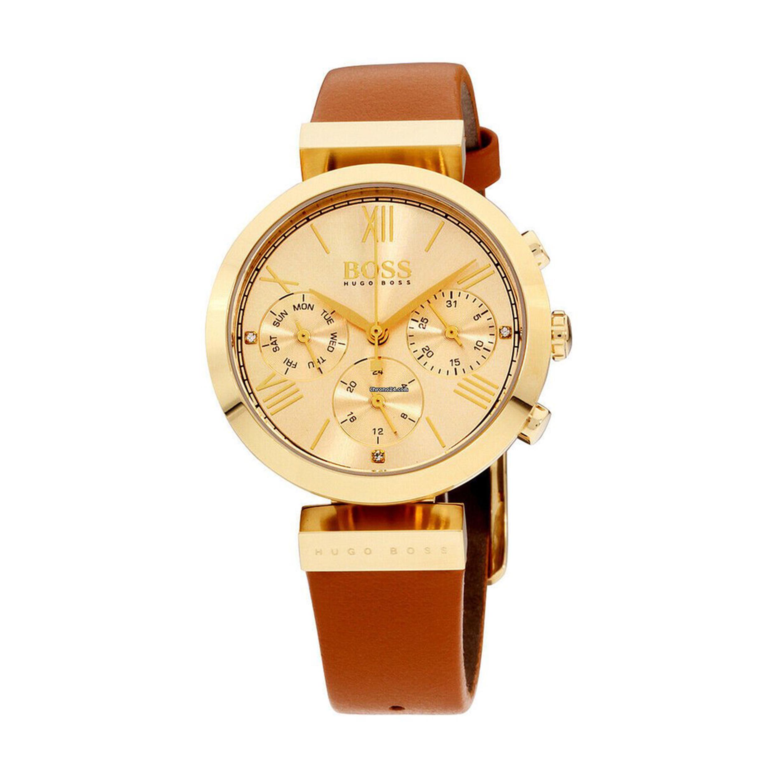 ساعت مچی عقربه ای زنانه هوگو باس مدل ۱۵۰۲۳۹۶