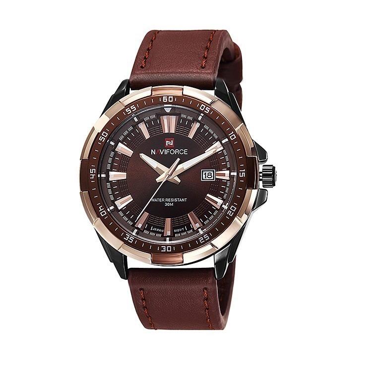 ساعت مچی عقربه ای مردانه نیوی فورس مدل nf9056 SCE