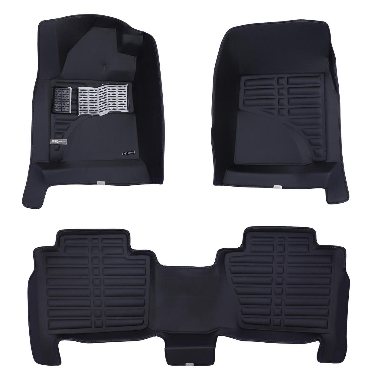 کفپوش سه بعدی خودرو تری مکس اچ اف کی مدل HS110222 مناسب برای تویوتا لندکروزر