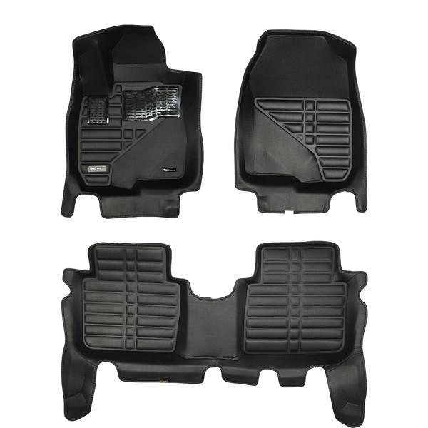 کفپوش سه بعدی خودرو تری دی مکس اچ اف کی مدل HS110149 مناسب برای هوندا CRV