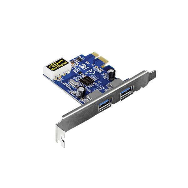 هاب USB 3.0 دو پورت PCI-E ترندنت مدل TU3-H2PIE