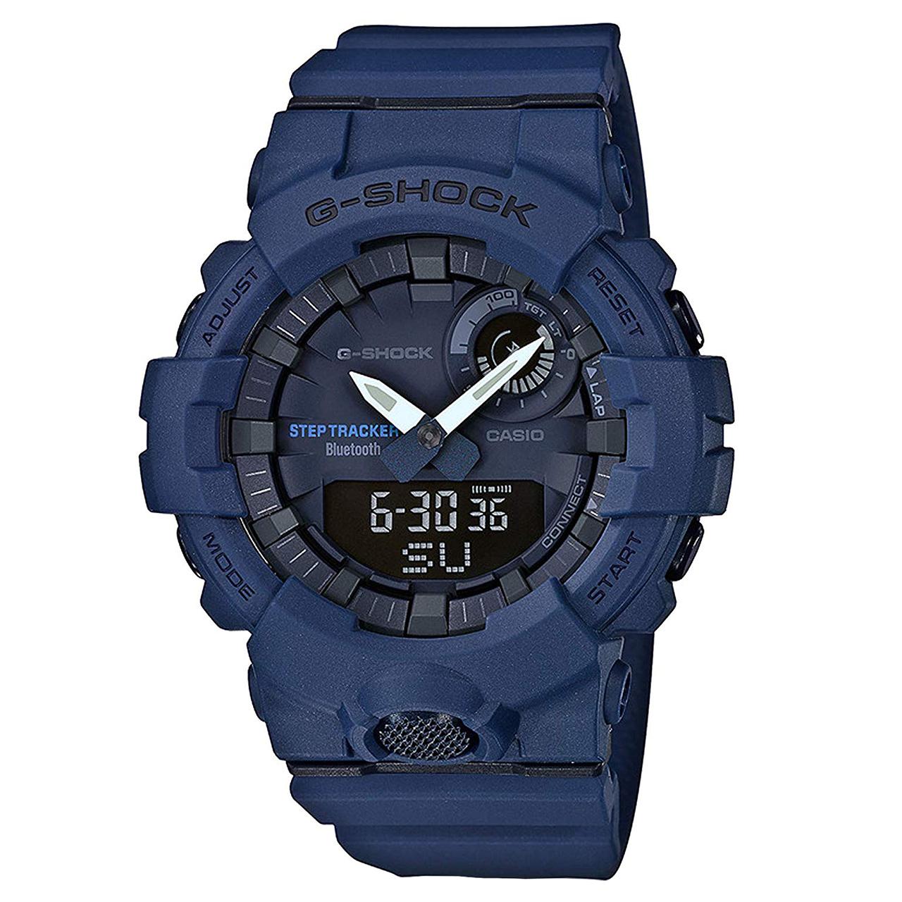 کد تخفیف                                      ساعت مچی عقربه ای کاسیو مدل جی شاک کد GBA-800-2ADR