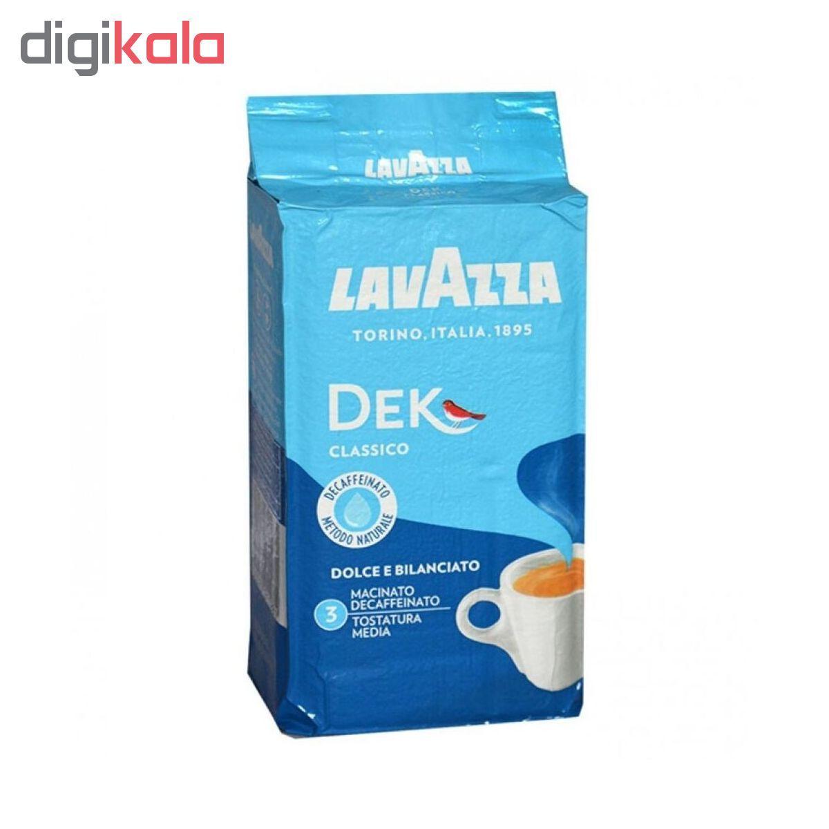 پودر قهوه لاواتزا مدل Dek Classico مقدار 250 گرم main 1 1