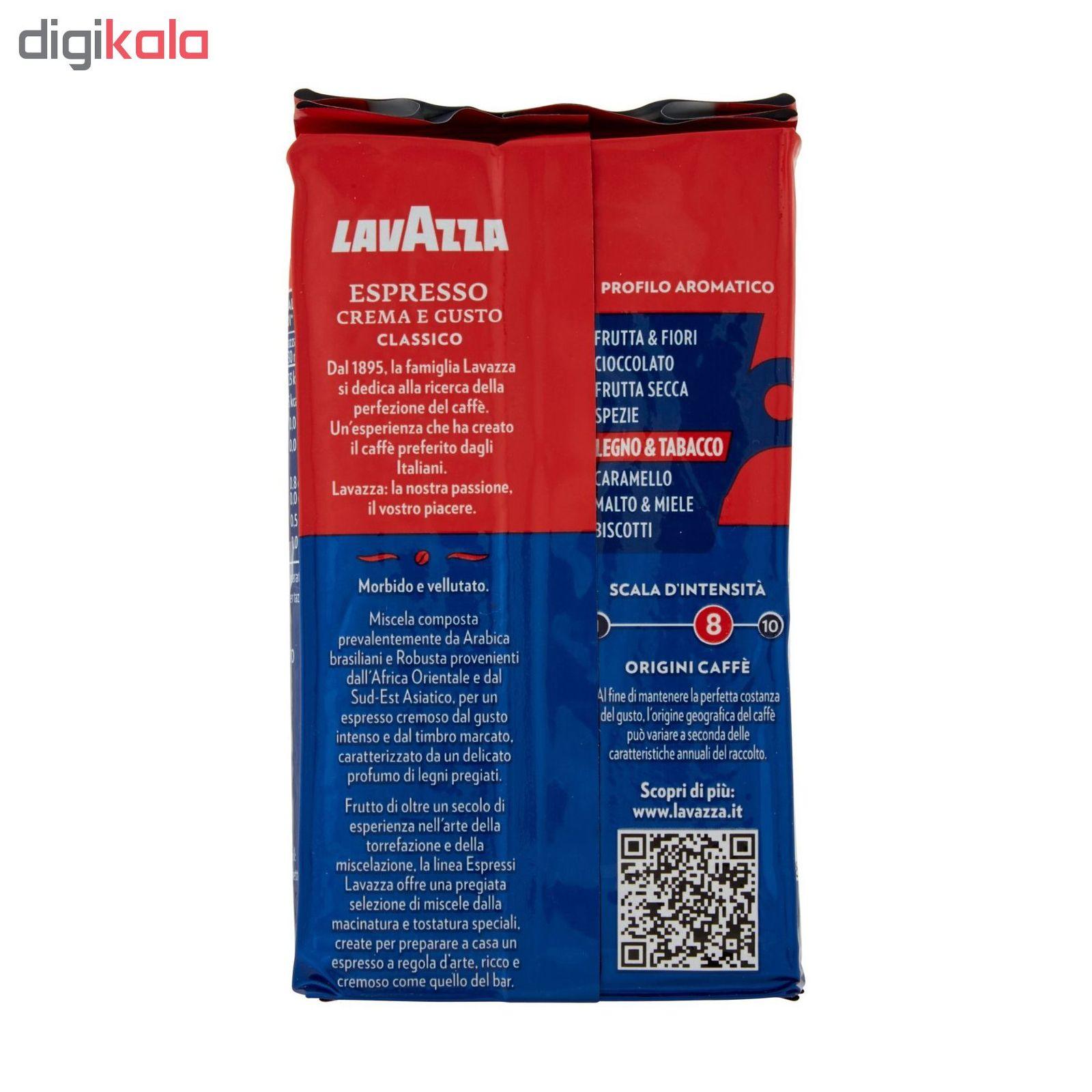 پودر قهوه لاواتزا مدل Crema e Gusto Classico مقدار 250 گرم main 1 1