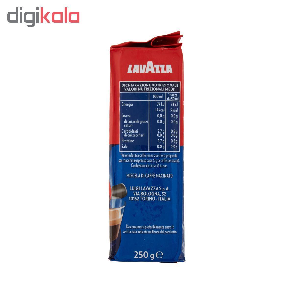 پودر قهوه لاواتزا مدل Crema e Gusto Classico مقدار 250 گرم main 1 2