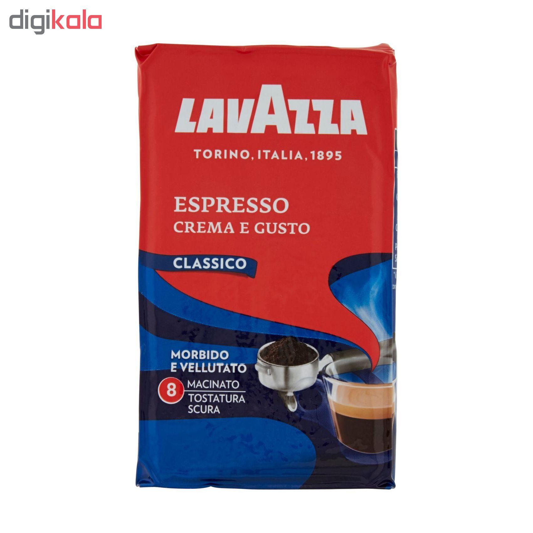 پودر قهوه لاواتزا مدل Crema e Gusto Classico مقدار 250 گرم