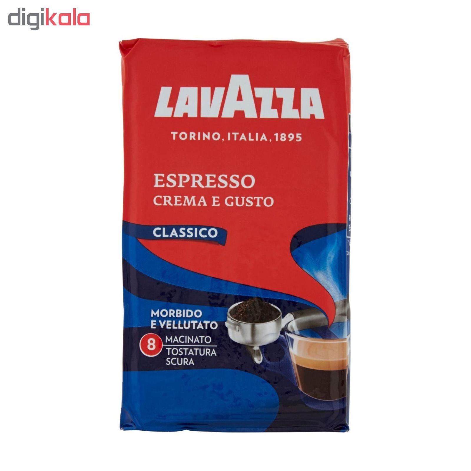 پودر قهوه لاواتزا مدل Crema e Gusto Classico مقدار 250 گرم main 1 4