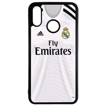 کاور طرح لباس تیم رئال مادرید کد 110486 مناسب برای گوشی موبایل سامسونگ galaxy a40