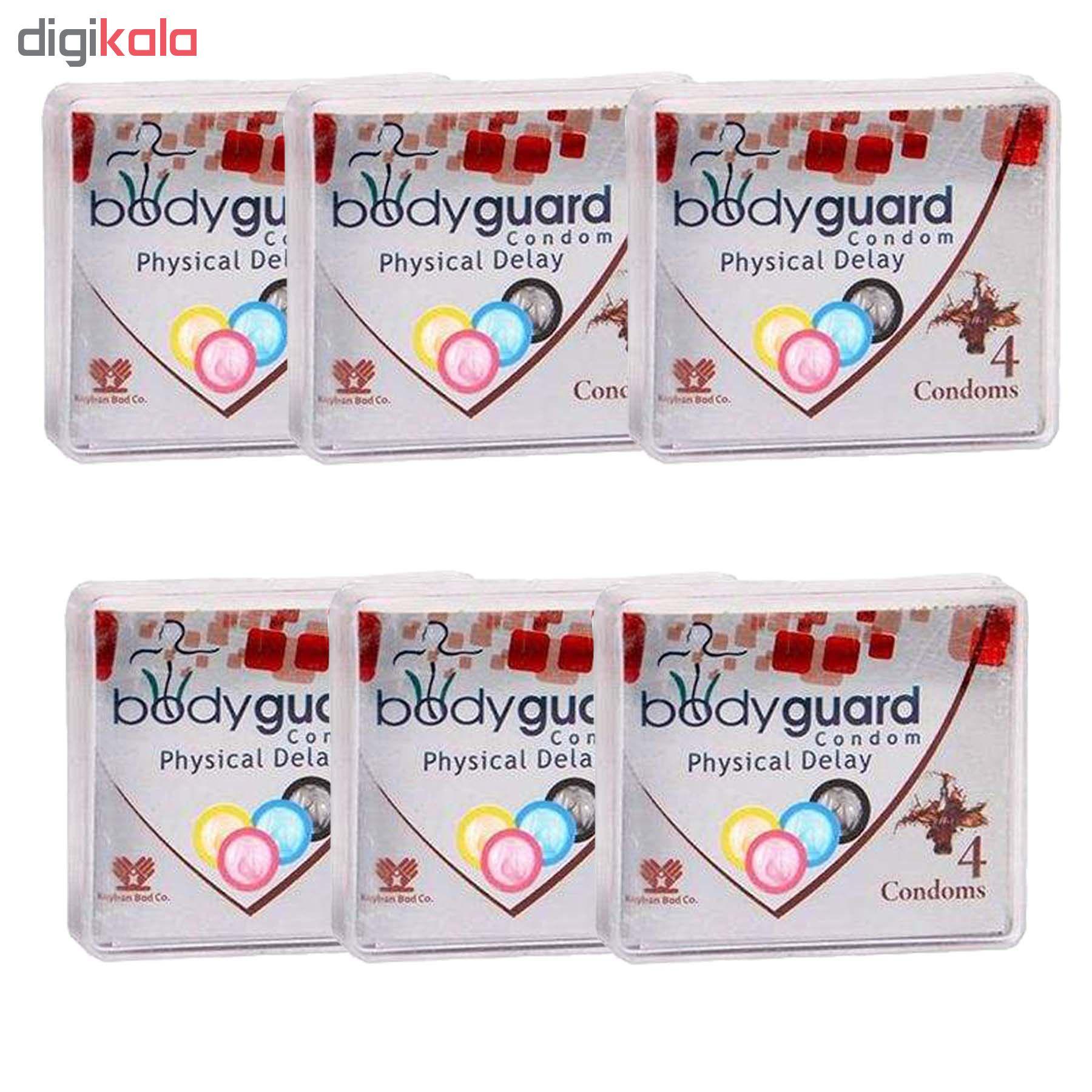 خرید                      کاندوم بادی گارد مدل دیلی مجموعه 6 عددی