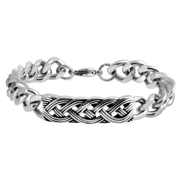 دستبند مردانه اقلیمه کد DS463