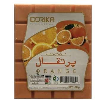 شکلات با طعم پرتقال دوریکا مقدار 220 گرم