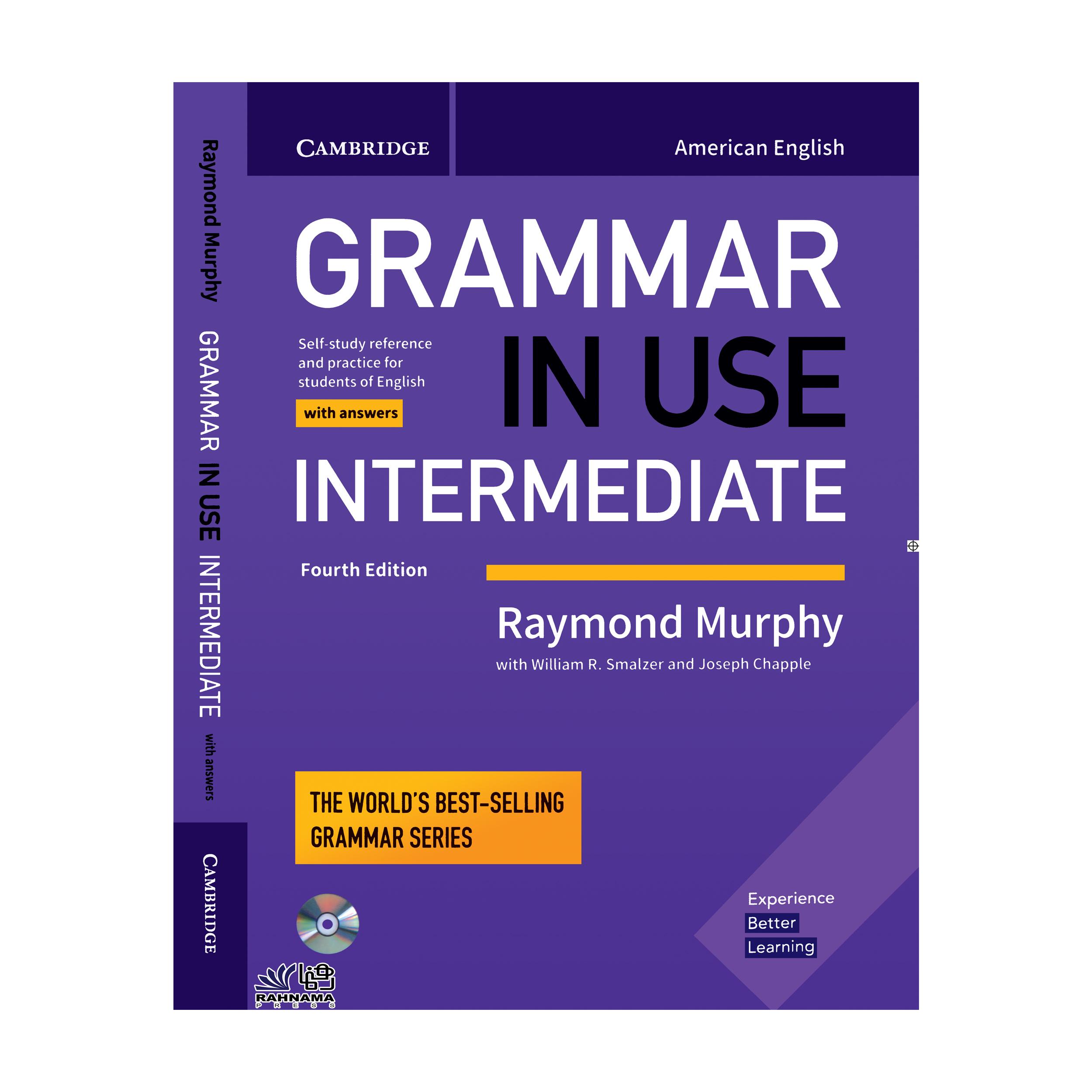 کتاب GRAMMAR IN USE INTERMEDIATE اثر raymond murphy انتشارات رهنما