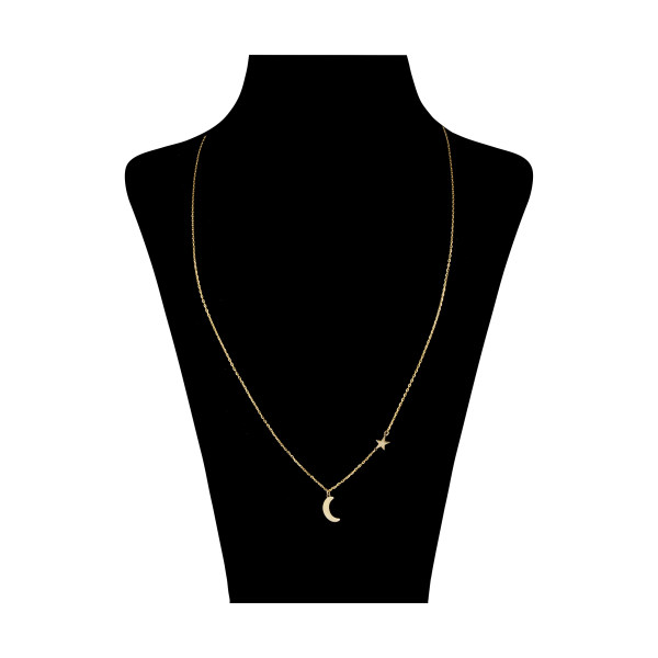گردنبند طلا 18 عیار زنانه نیوانی مدل GA171