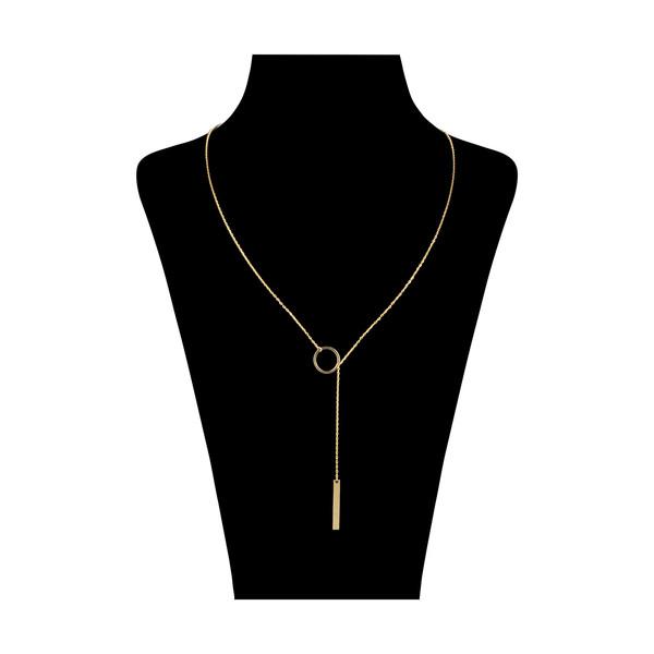 گردنبند طلا 18 عیار زنانه نیوانی مدل GA174