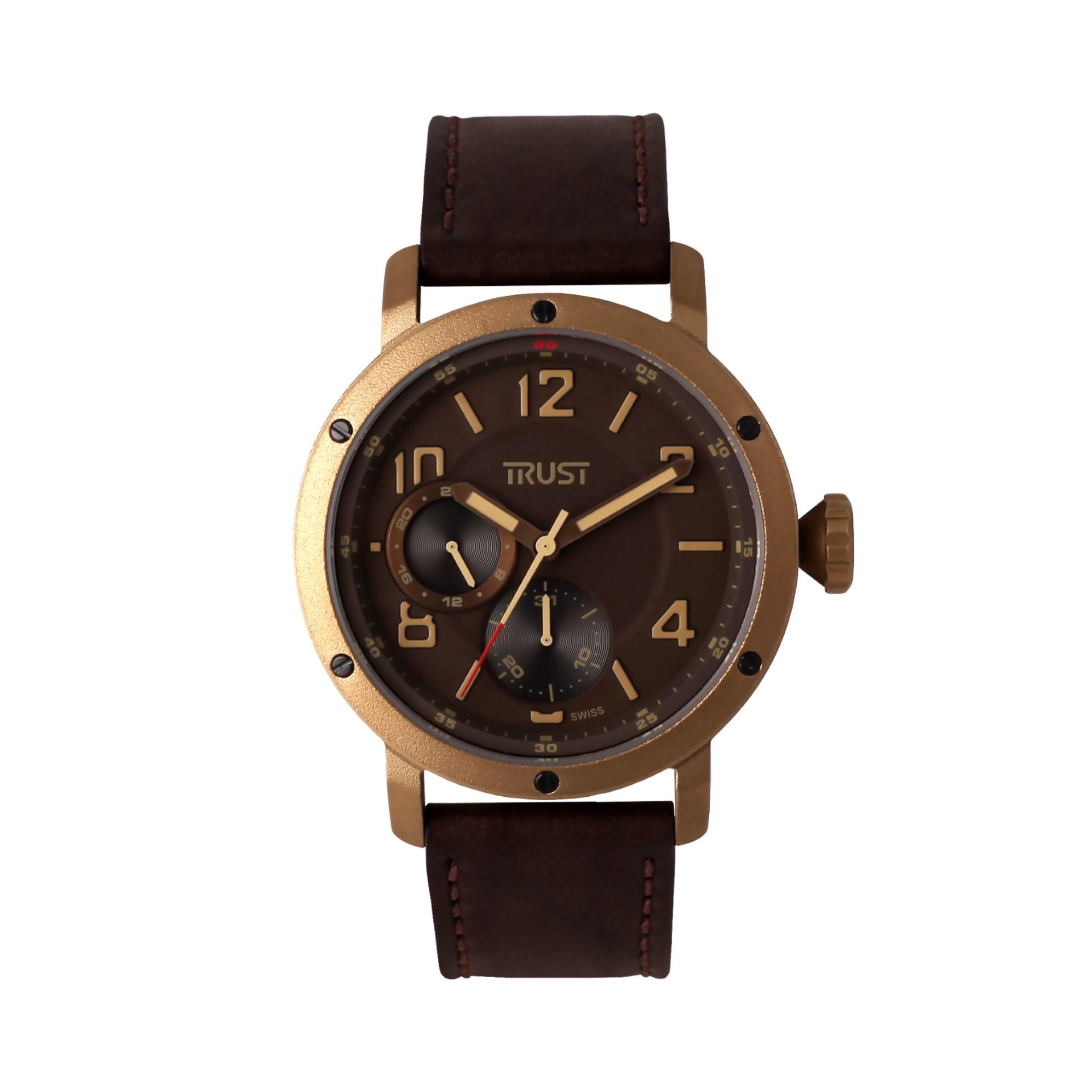 قیمت                      ساعت مچی عقربه ای مردانه تراست کد G488IUE
