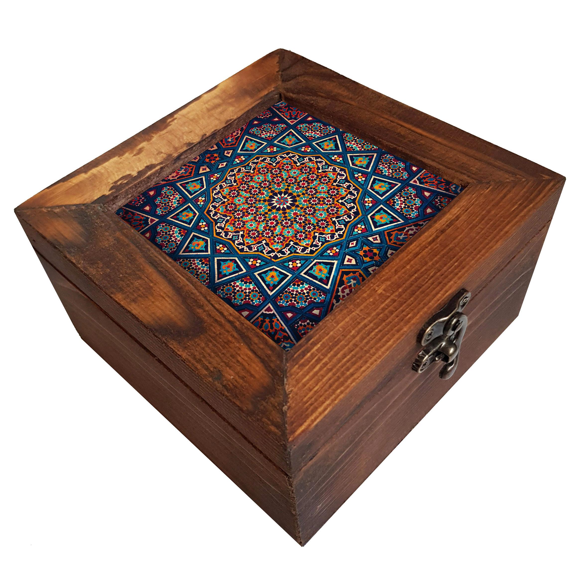 خرید                      جعبه هدیه چوبی کد A22
