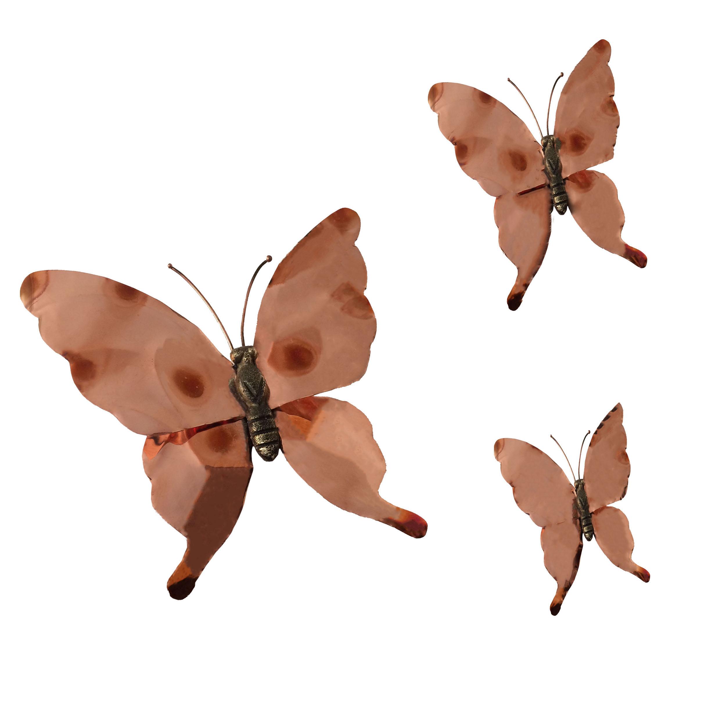 پروانه مسی کد fly01 بسته سه عددی