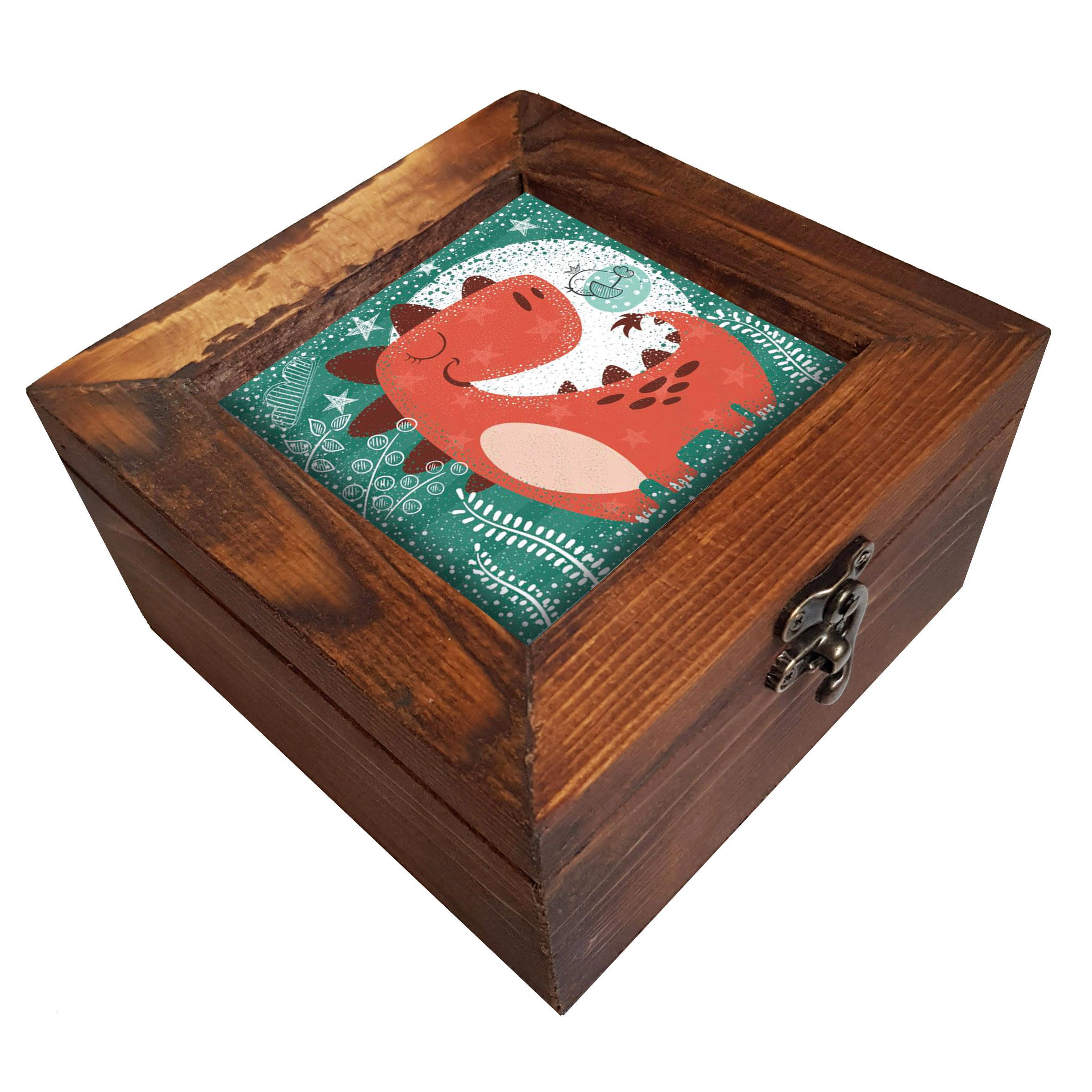 جعبه هدیه چوبی کد A51