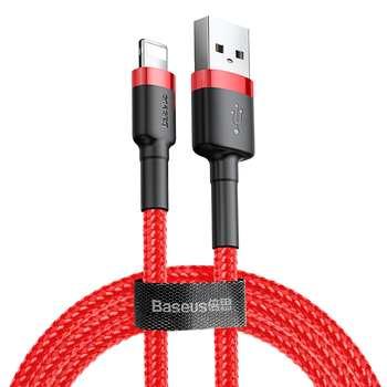 کابل تبدیل USB به لایتنینگ باسئوس مدل CALKLF-C09 طول 2 متر