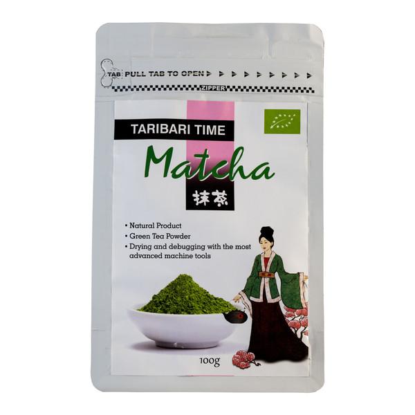 چای ماچا تاری باری مقدار 100 گرم