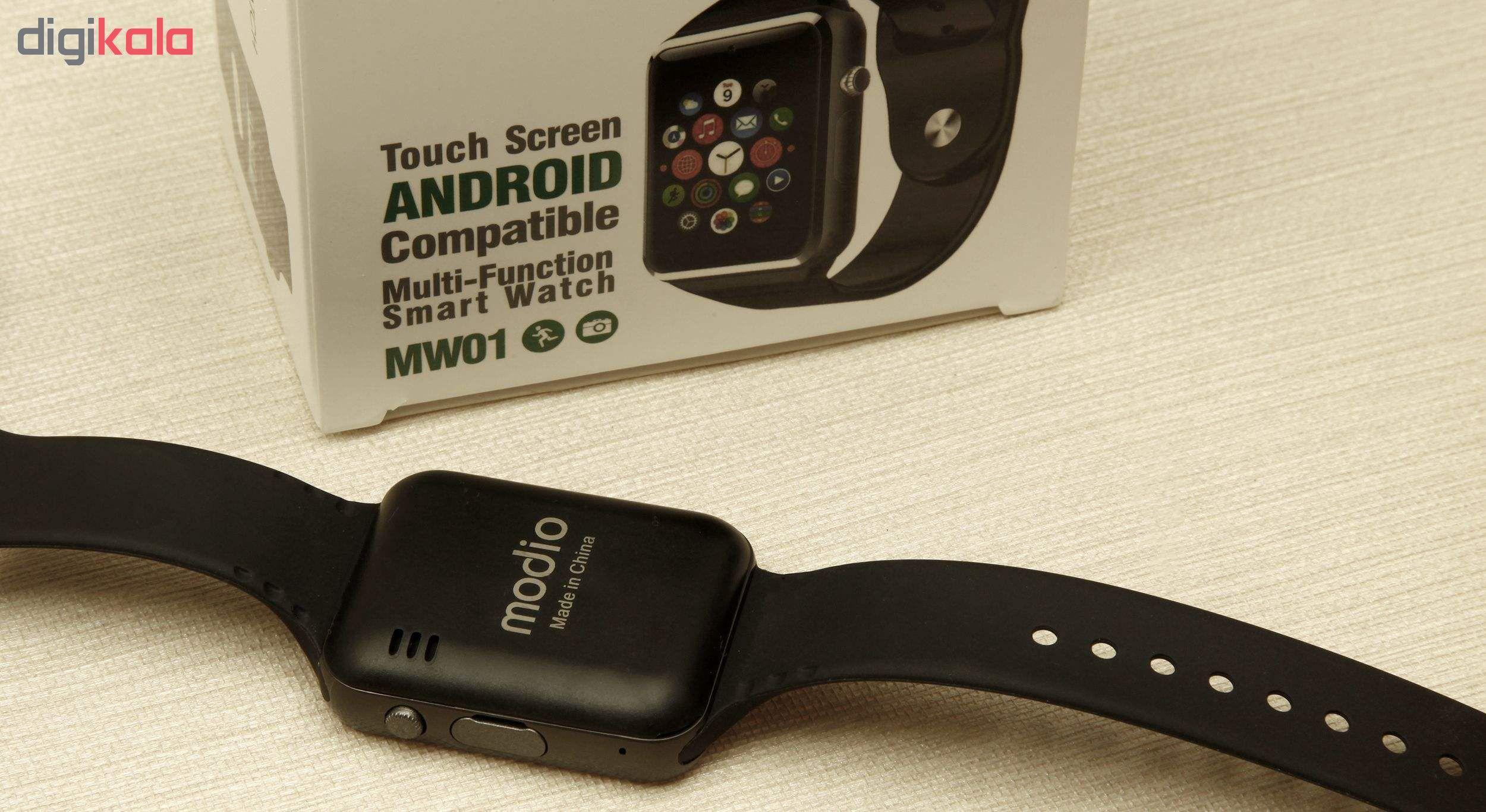 ساعت هوشمند مودیو مدل MW01  main 1 12