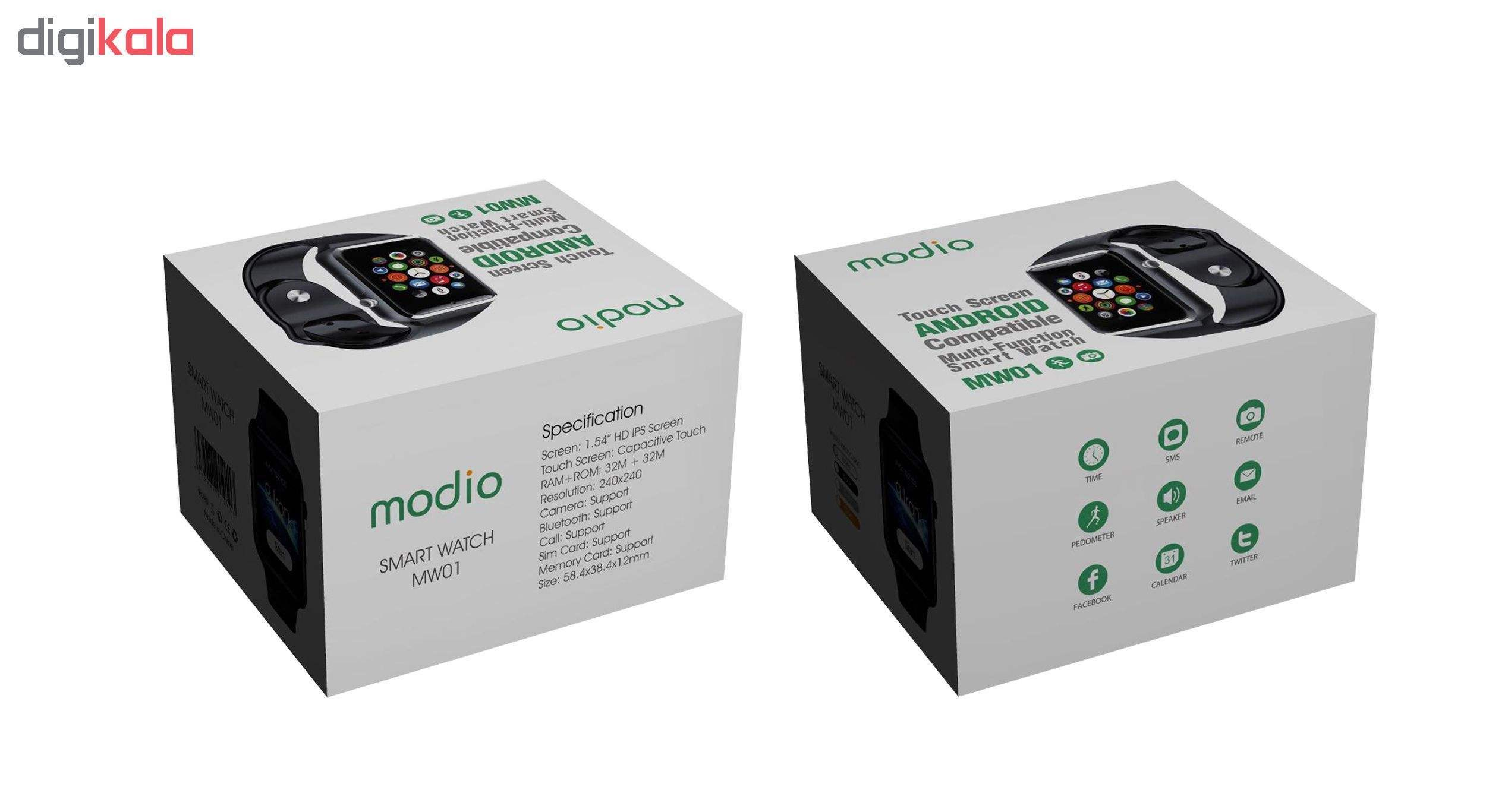 ساعت هوشمند مودیو مدل MW01  main 1 14