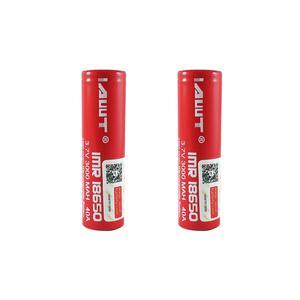 باتری لیتیوم-یون قابل شارژ ای دبلیو تی کد IMR-18650 بسته 2 عددی