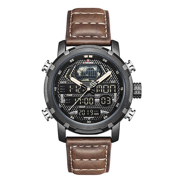 کد تخفیف                                      ساعت مچی عقربه ای مردانه نیوی فورس مدل NF9160 - BYBN