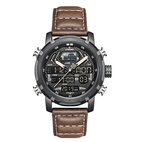 ساعت مچی عقربه ای مردانه نیوی فورس مدل NF9160 - BYBN