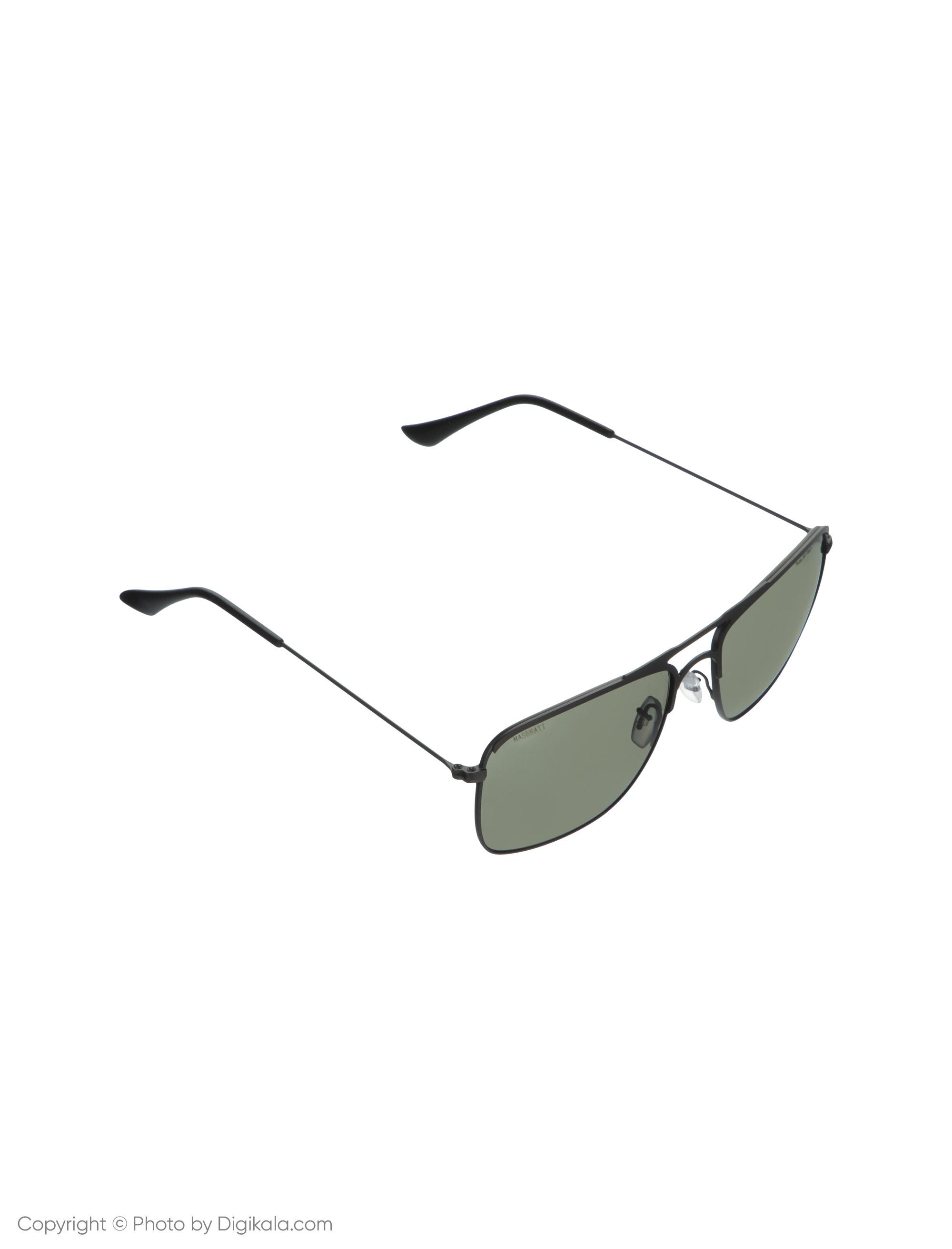 عینک آفتابی مردانه مازراتی مدل Rules-901-DG