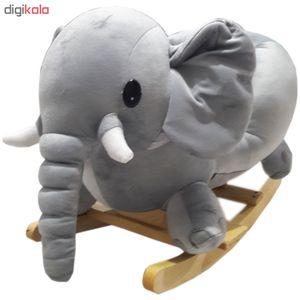 راکر کودک طرح فیل