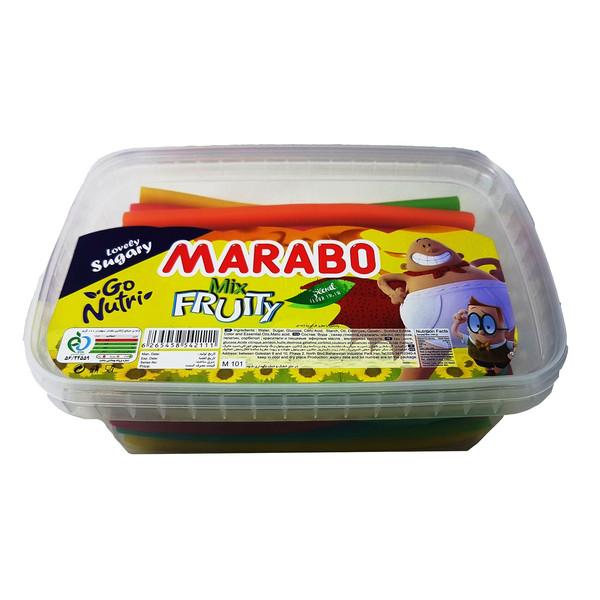 پاستیل مدادی چند میوه مارابو مقدار 900 گرم