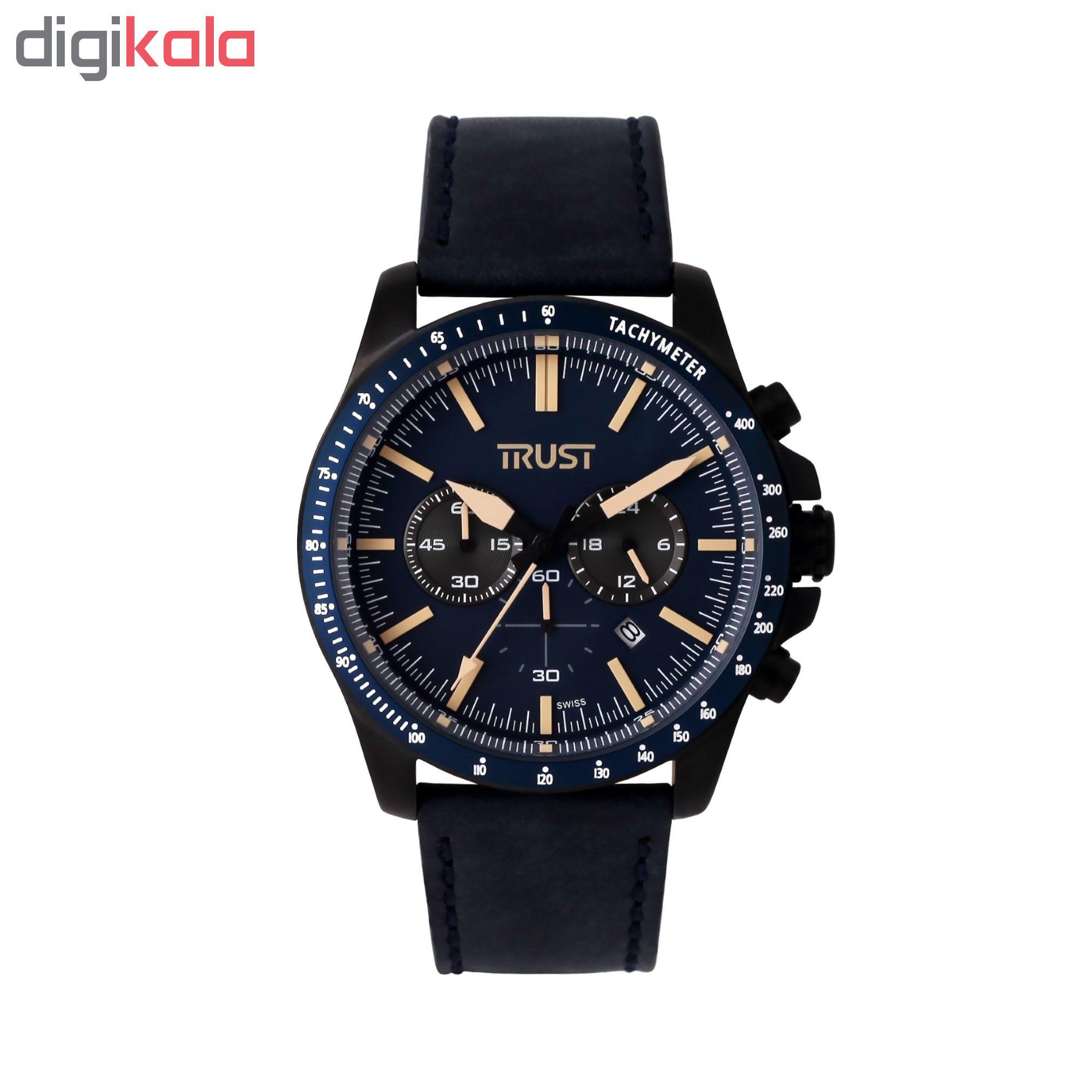 کد تخفیف                                      ساعت مچی عقربه ای مردانه تراست کد G492DSG