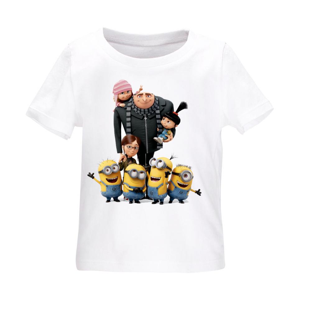 تی شرت بچه گانه طرح خانواده مینیمون مدل b13