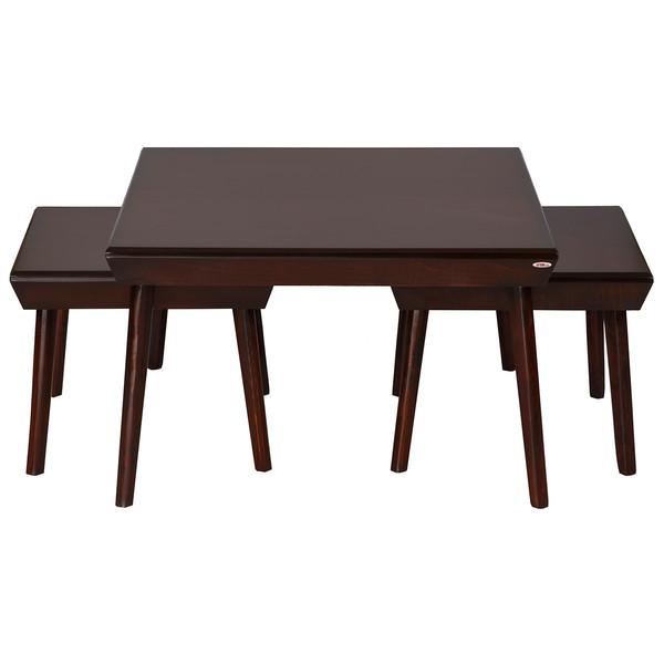 میز پذیرایی چشمه نور کد E-210 مجموعه 3 عددی