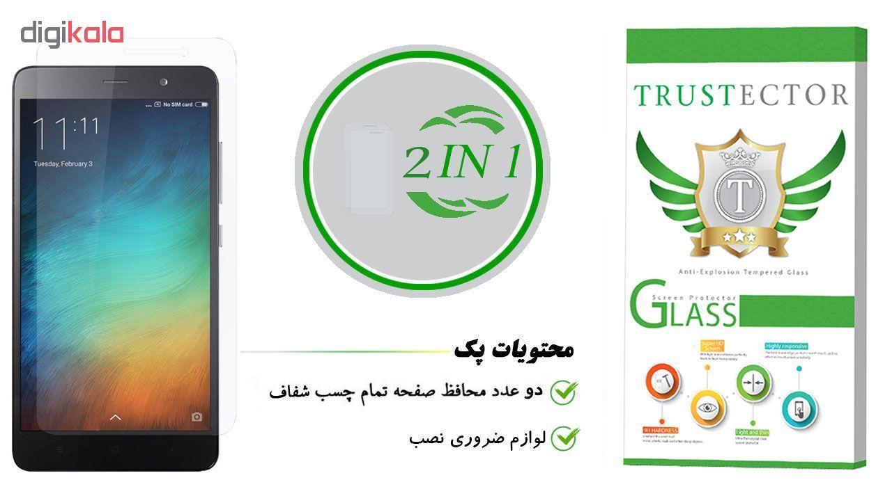 محافظ صفحه نمایش تراستکتور مدل GLS مناسب برای گوشی موبایل شیائومی Redmi Note 3 Pro / Redmi Note 3 بسته 2 عددی main 1 1