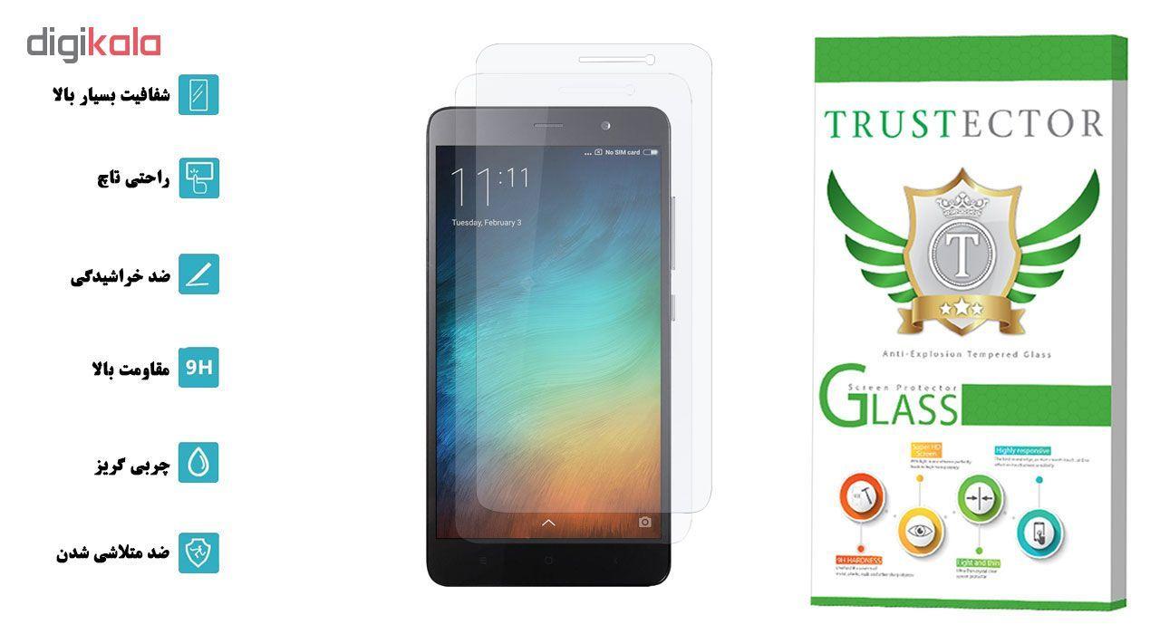 محافظ صفحه نمایش تراستکتور مدل GLS مناسب برای گوشی موبایل شیائومی Redmi Note 3 Pro / Redmi Note 3 بسته 2 عددی main 1 2