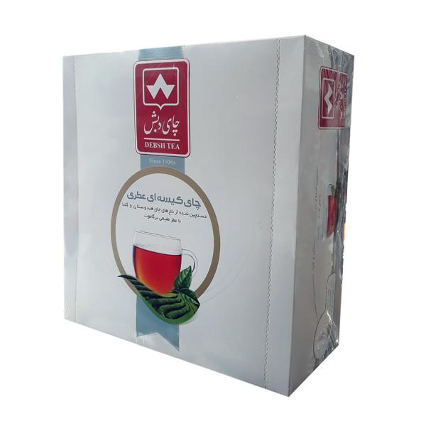 چای کیسه ای عطری برگاموت دبش بسته 100 عددی