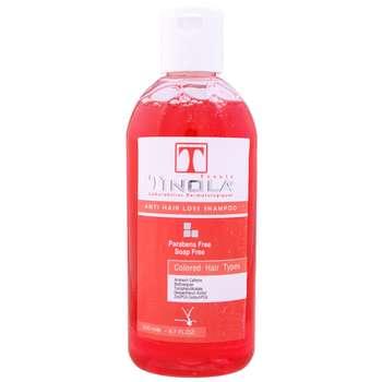 شامپو مو ضد ریزش و تقویت کننده تینولا بیوتی کد TI04 حجم 200 میلی لیتر